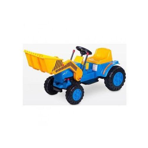 Toyz Pojazd na akumulator Bulldozer niebieski ze sklepu Agito.pl