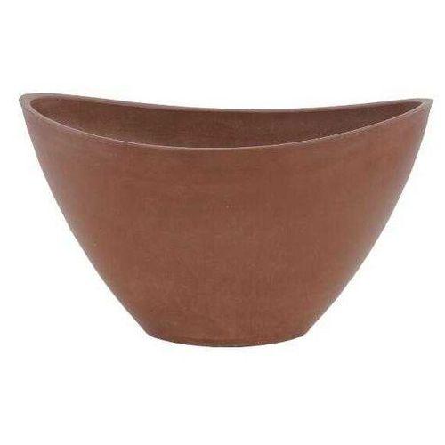 Uniwersalna donica / osłonka owalna ciemno brązowa 41cm, produkt marki Galicja