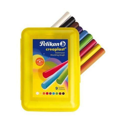 Oferta Plastelina Creaplast Pelikan - 9 kolorów - opakowanie żółte [f594d9a14f53544a]