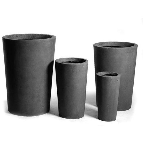 Wysoka donica ogrodowa Vase Lead wysokość 40cm 45021-1 od Fajnedonice.pl