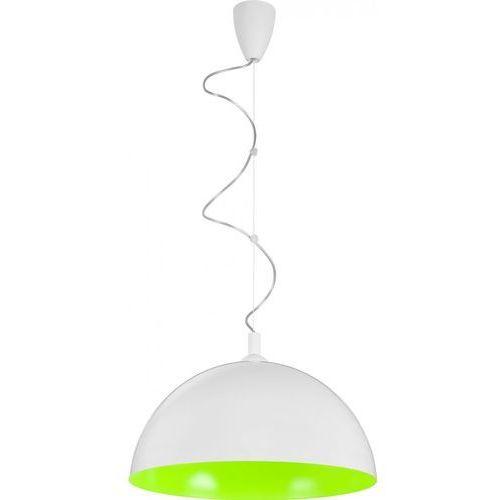 Lampa wisząca Hemisphere White-Green fluo L by Nowodvorski z kategorii oświetlenie