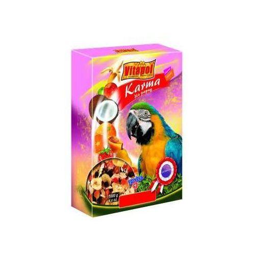 VITAPOL Pokarm owocowy dla dużych papug 800g