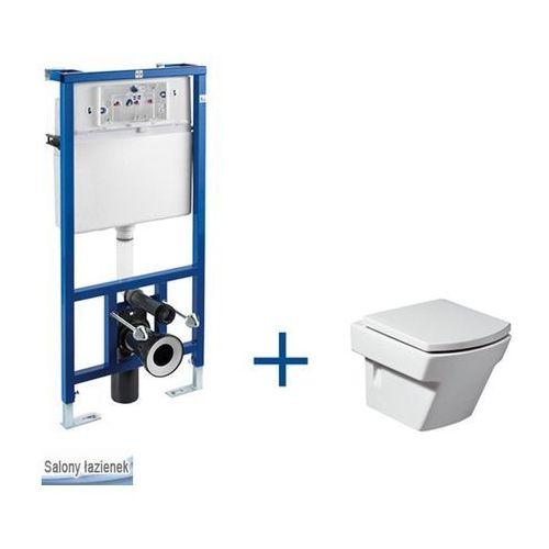 Produkt z kategorii- pozostałe artykuły hydrauliczne - Zestaw podtynkowy PRO + miska WC podwieszana Hall Com