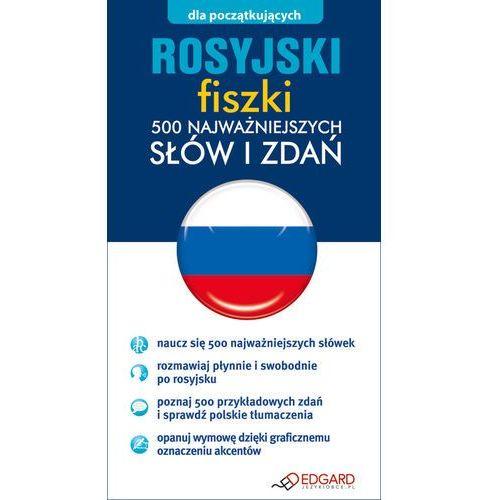 Rosyjski Fiszki 500 najważniejszych słów i zdań - oferta [35a4487f77d58589]