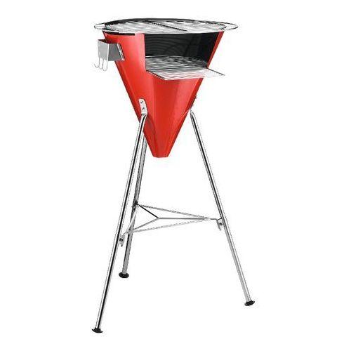 - grill ogrodowy - Fyrkat Cone - czerwony - czerwony, produkt marki Bodum