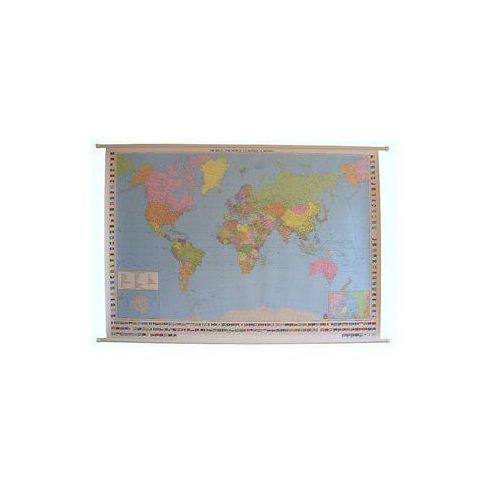 Świat mapa ścienna polityczna 1:25 000 000  & Berndt, produkt marki Freytag