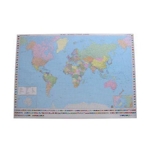 Świat mapa fizyczna tuba 1:35 000 000, produkt marki Freytag&Berndt