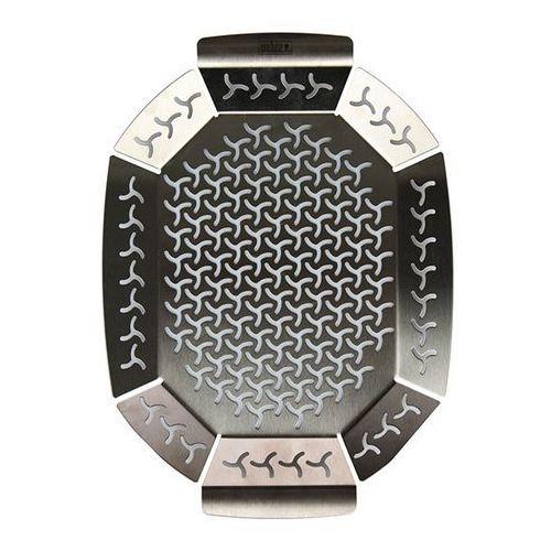 WEBER 6678 Tacka do grilla ze stali nierdzewnej, produkt marki Weber