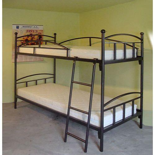 Łóżko metalowe