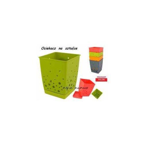 OCIEKACZ na SZTUĆCE BĄBLE POJEMNIK 4 KOLORY - produkt z kategorii- suszarki do naczyń