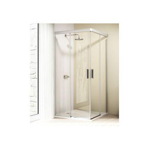 HUPPE DESIGN ELEGANCE 4-kąt wejście narożnikowe,drzwi suwane 2-częściowe 8E2901 (drzwi prysznicowe)