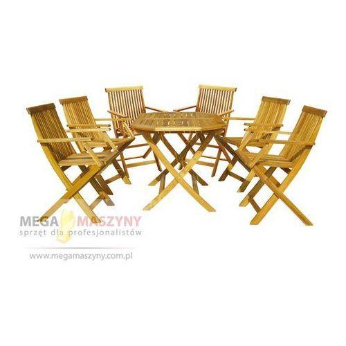 HECHT Zestaw ogrodowy - stół + 6 krzesła Basic Set 6 (stół ogrodowy)