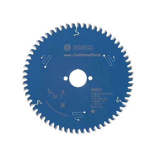 Tarcza pilarska Expert for LaminatedPanel 190x30x2.6/1.6x60 T Bosch ze sklepu NEXTERIO