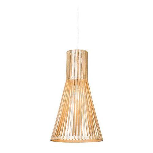 Lampa wisząca Bamboo 1 naturalna - sprawdź w lampyiswiatlo.pl