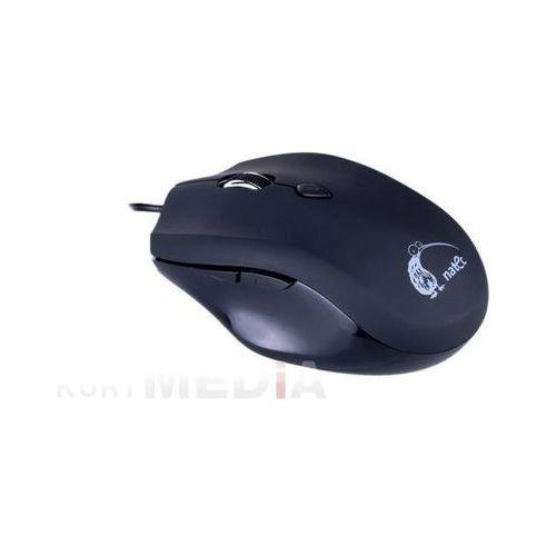 Natec Mysz  snipe laserowa black przewodowa