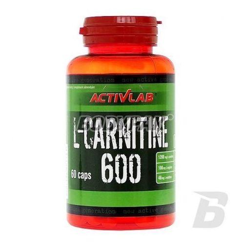 l-carnitine 600 super - 60 kaps. wyprodukowany przez Activlab