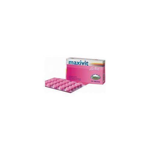 [tabletki] Maxivit dla niej x 100 tabl