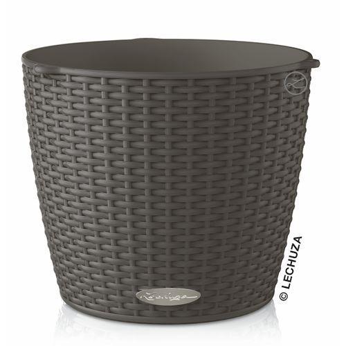 Donica Lechuza Nido Cottage granit wisząca, produkt marki Produkty marki Lechuza