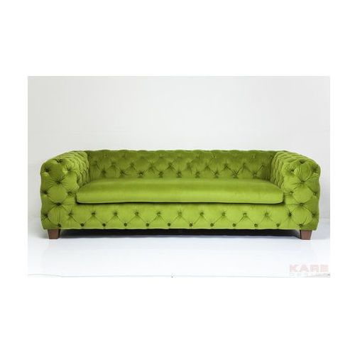 Kare design :: Sofa My Desire Velvet Green 3-Seater, Kare Design