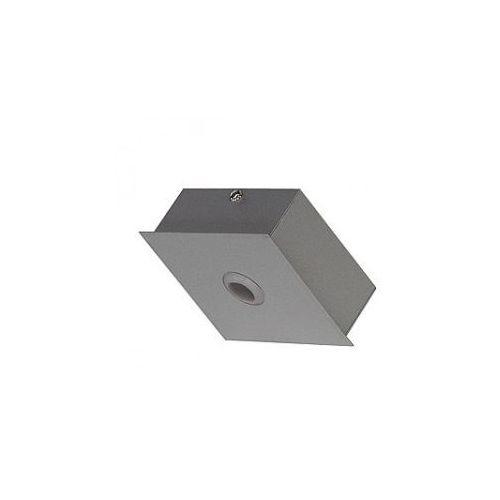 System wiszący AIXLIGHT PENDANT SYSTEM Rosette mit Einspeisekabel, srebrno-szary z kategorii oświetlenie