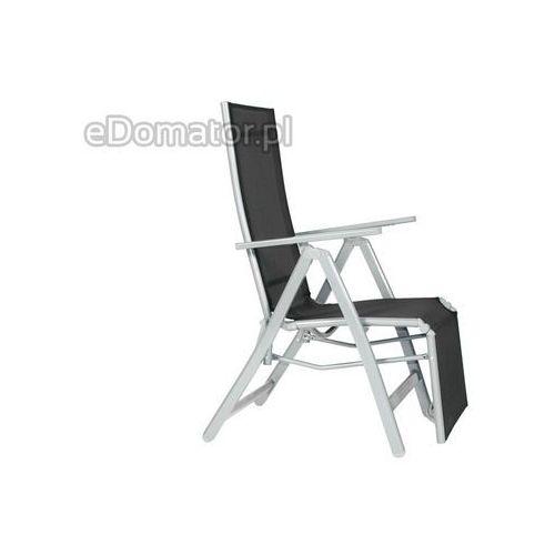Krzesło ogrodowe LAGUNA 7 pozycji z podnóżkiem ze sklepu eDomator.pl