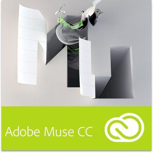 Adobe Muse CC dla użytkowników wcześniejszych wersji - Subskrypcja - produkt z kategorii- Pozostałe oprogramowanie