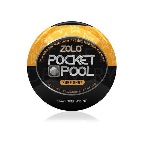 Zolo Pocket Pool Sure Shot mini masturbator - oferta [254adba25f330441]