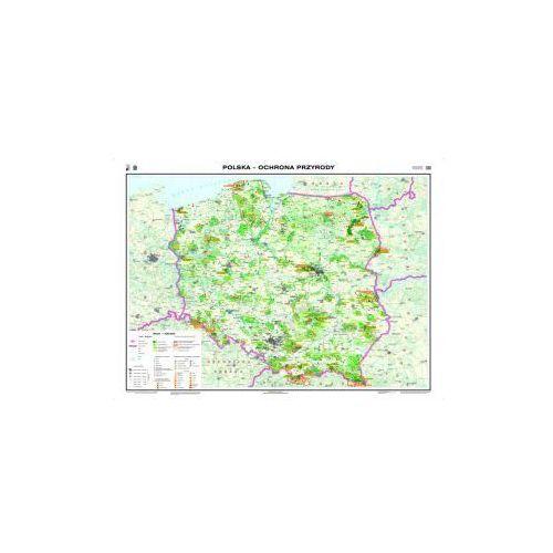 Produkt Polska. Ochrona przyrody / mapa do ćwiczeń. Mapa ścienna Polski, marki Nowa Era