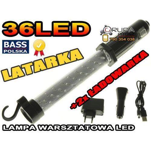 DIODOWA LAMPA BEZPRZEWODOWA 27 + 9 LED USB z kategorii oświetlenie