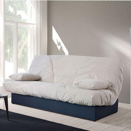 PINTO sofa rozkładana z pojemnikiem na pościel - beżowy, Meble tapicerowane