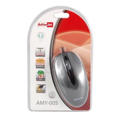 ActiveJet  Mysz optyczna AMY-003 USB-POZŁACANE STYKI z kat. myszy, trackballe i wskaźniki