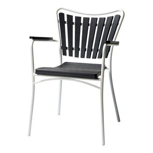 Krzesło ogrodowe Cinas Hard&Ellen czarne ze sklepu All4home