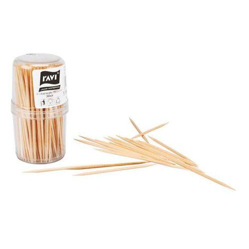 Drewniane wykałaczki beczka RAVI - 200szt., produkt marki Ravi