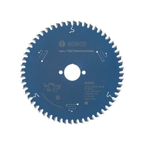 Tarcza pilarska Expert for HighPressureLaminate 190x30x2.6/1.6x56 T Bosch ze sklepu NEXTERIO
