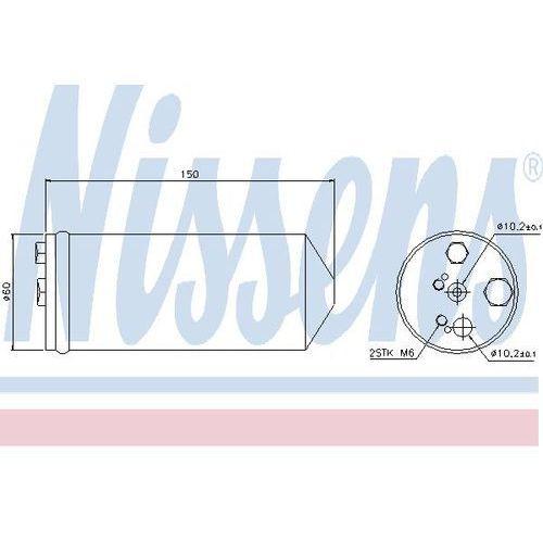 Towar z kategorii: osuszacze powietrza - Osuszacz, klimatyzacja NISSENS 95325