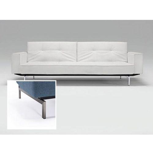 Sofa Splitback z podłokietnikami biała 588 nogi stalowe  741010020588-741010020-8-2, INNOVATION iStyle