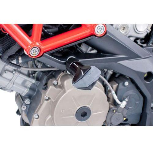 y PUIG do Aprilia Shiver 750 08-12 / Dorsuduro 750 09-12 (czarne) z kategorii crash pady motocyklowe