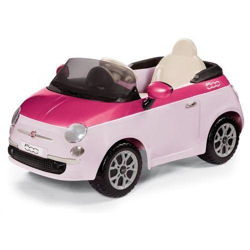 PEG PEREGO Samochód elektryczny Fiat 500 różowy ze sklepu Mall.pl