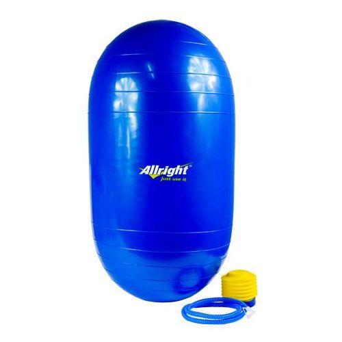 Produkt Piłka gimnastyczna wałek  (z pompką), marki Allright