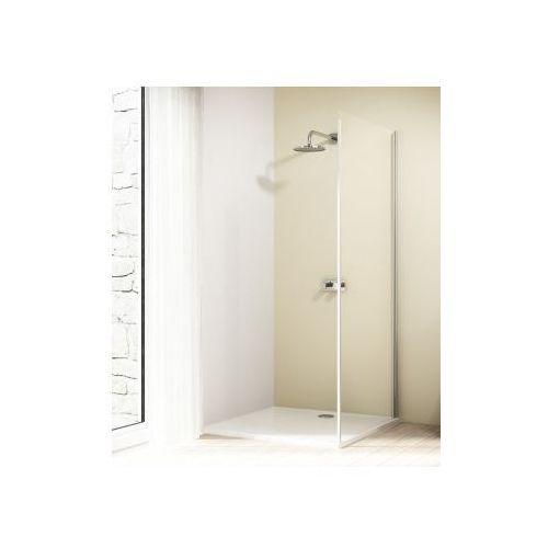 HUPPE DESIGN ELEGANCE 4-kąt ścianka boczna do drzwi suwanych 1-częściowych ze stałym segmentem 8E2701 (dr