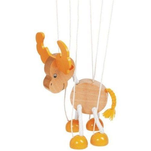 Marionetka dla dzieci - Łoś Beppo (pacynka, kukiełka)