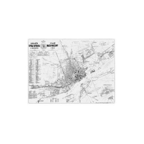 Plan miasta Warszawy i okolic, K. Witkowski, 1856 r., produkt marki Golden Maps Publishing