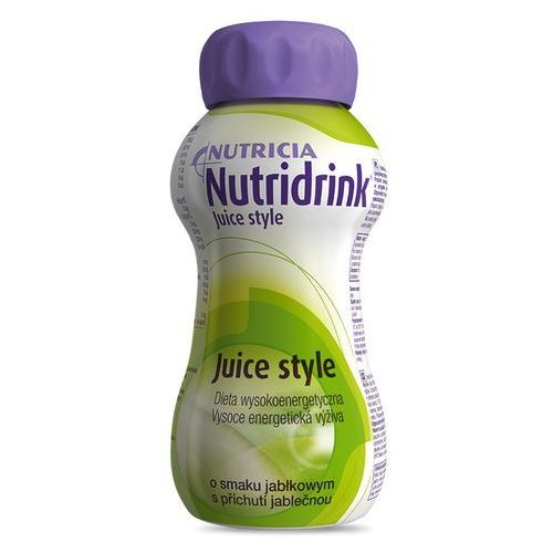 Nutridrink Juice Style jablko x 200ml, postać leku: płyn