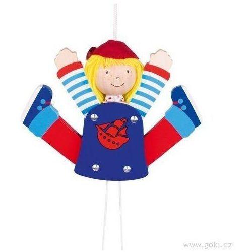 Pajacyk Jack pirat - zabawki dla dzieci (pacynka, kukiełka)