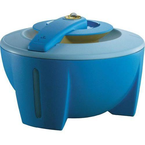 Nawilżacz powietrza z funkcją podgrzewania DeLonghi VH 400, 0.3 l/h, 40 m², 400 W, Niebieski , Biały, 4.5 l z kategorii Nawilżacze powietrza