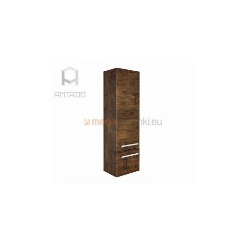 Antado Spektra FDF-492 regał wysoki stare drewno - produkt z kategorii- regały łazienkowe