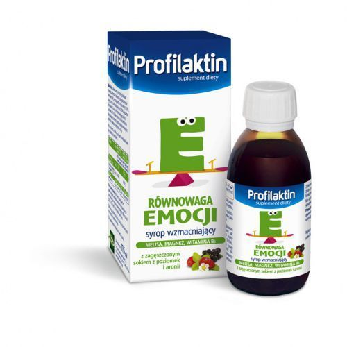Profilaktin Równowaga emocji syrop - 115 ml, postać leku: syrop