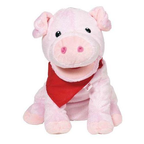 Oferta Duża pacynka na rękę. Różowa świnka, goki (pacynka, kukiełka)
