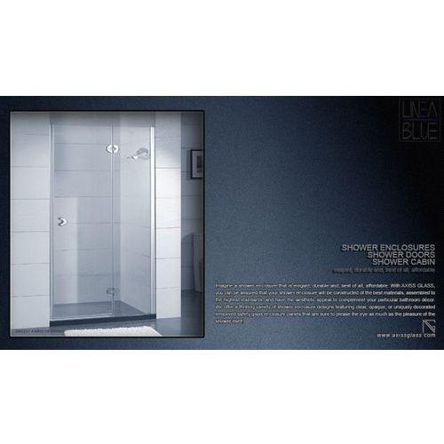 DRZWI PRYSZNICOWE AXISS GLASS AN6221H 900mm (drzwi prysznicowe)