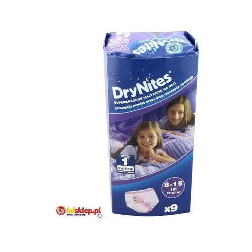 Produkt HUGGIES DryNites GIRL (27-57kg) Majteczki na noc 9szt